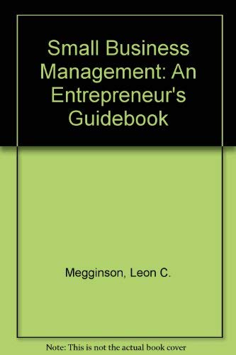 9780072497816: Small Business Management: An Entrepreneur's Guidebook