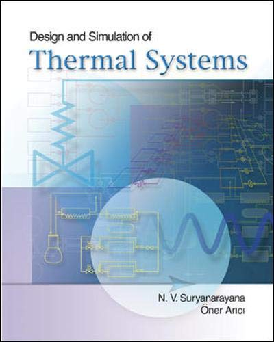 9780072497984: Design and Simulation of Thermal Systems