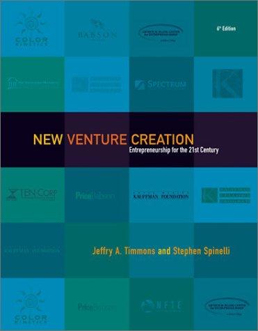 9780072498400: New Venture Creation: Entrepreneurship for the 21st Century