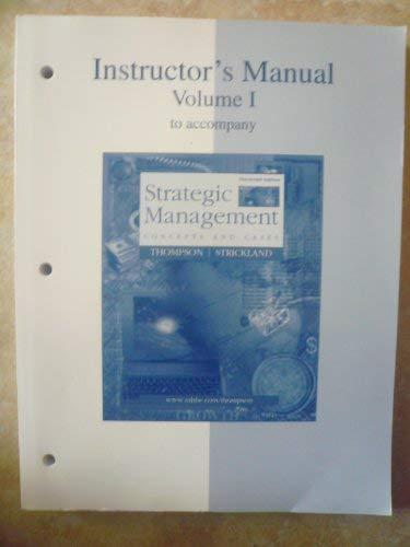 9780072498578: Ri Im Vol 1 Strategic Mgmt