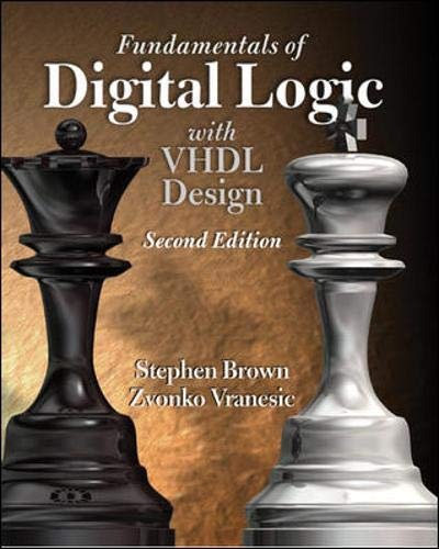 9780072499384: Fundamentals of Digital Logic with VHDL Design with CD-ROM (McGraw-Hill Series in Electrical and Computer Engineering)