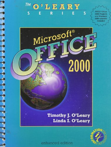 9780072499544: O'Leary Series: MS Office 2000 Enhanced Edition