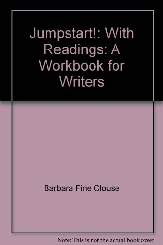 9780072499643: Jumpstart!: With Readings: A Workbook for Writers
