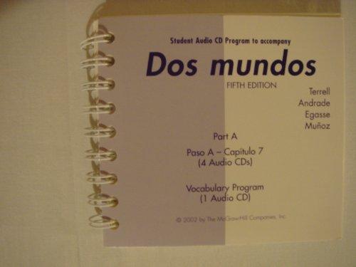 9780072500448: Dos mundos Student Audio CD Program Part A