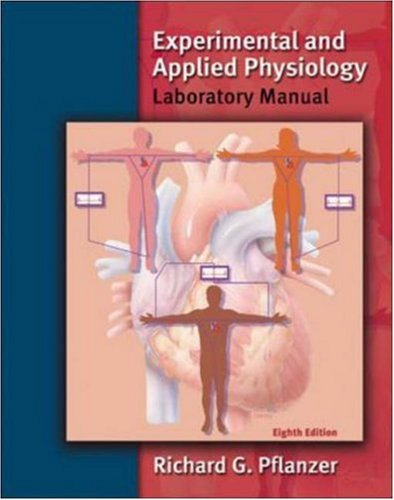 9780072500776: Experimental and Applied Physiology Laboratory Manual