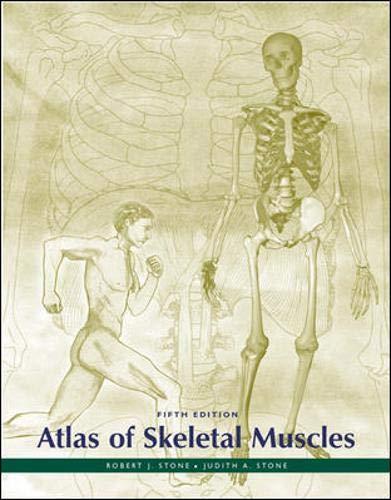 9780072501780: Atlas of Skeletal Muscles (ATLAS OF SKELETAL MUSCLES (STONE))