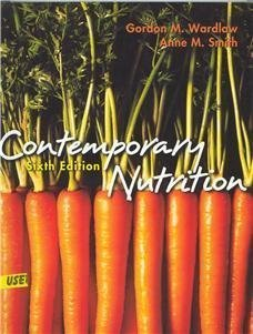 9780072501858: Contemporary Nutrition: Issues And Insights