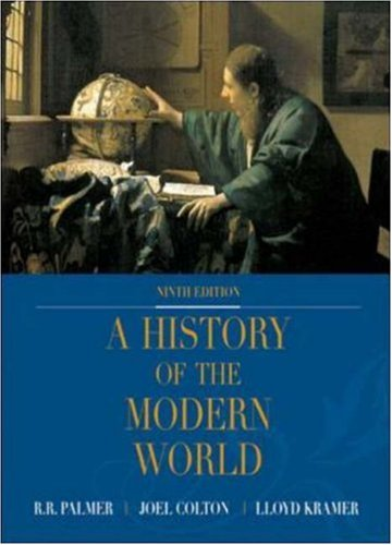 9780072502800: A History of the Modern World