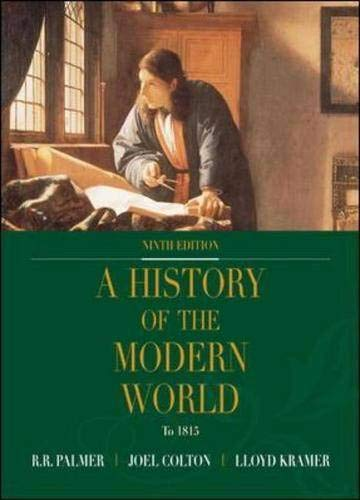 9780072502817: A History of the Modern World, Volume I with Powerweb; MP