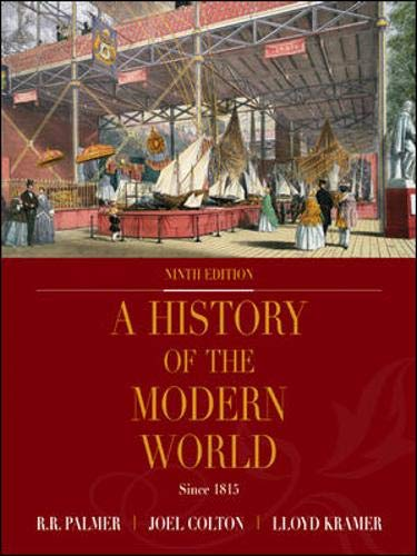 9780072502824: History of the Modern World: Since 1815 (9th edition)