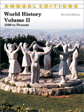 9780072503098: World History (Annual Editions: World History Vol. 2)