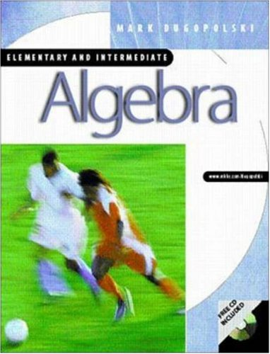 9780072504989: Elementary and Intermediate Algebra with SMART CD-ROM and OLC card (mandatory package)
