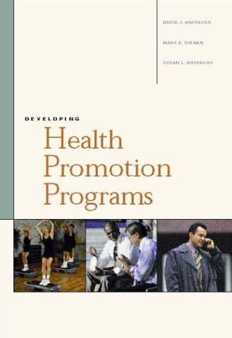 9780072505108: Developing Health Promotion Programs with PowerWeb: Health & Human Performance