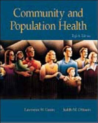 9780072505153: Community and Population Health with PowerWeb: Health and Human Performance