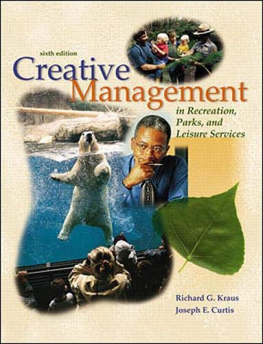 9780072506068: Creative Management In Recreation, Parks and Leisure Services with PowerWeb: Health & Human Performance