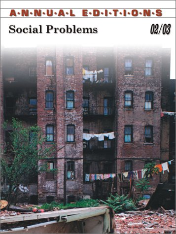 9780072506518: Annual Editions: Social Problems 02/03