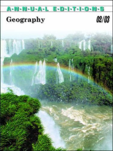 9780072506587: Geography 2002-2003 (Annual Editions : Geography)
