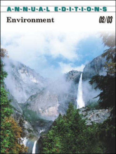 9780072506822: Annual Editions Environment 02/03