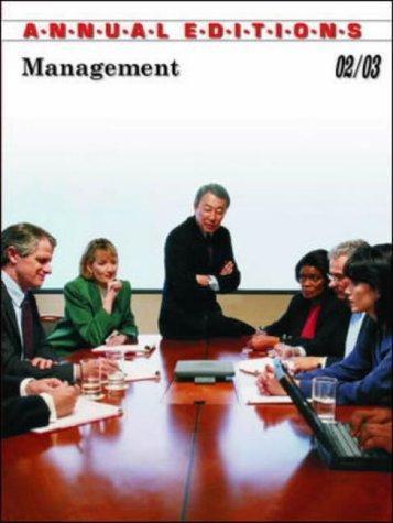 9780072506860: Management 02/03 (Management, 2002-2003)