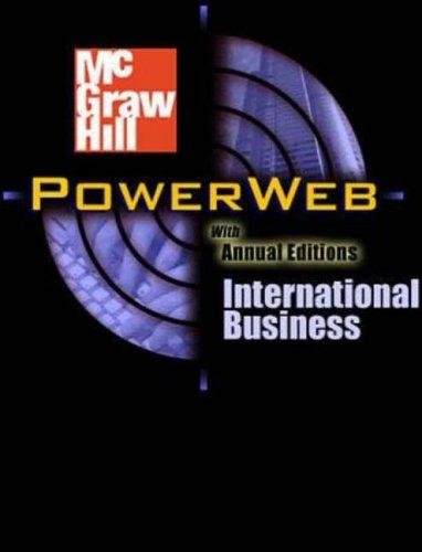 9780072506990: Global Business Today: Postscript 2002