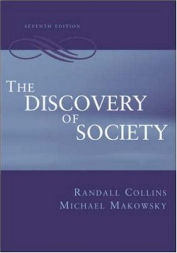 9780072507362: The Discovery of Society