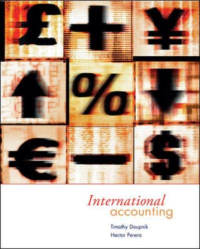 9780072507751: International Accounting