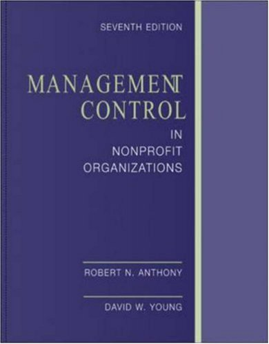 9780072508253: Management Control In Nonprofit Organizations