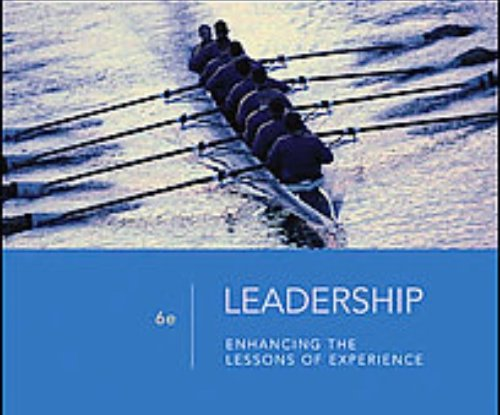 9780072508895: Selections From Leadership Enhancing the Lessons of Experience