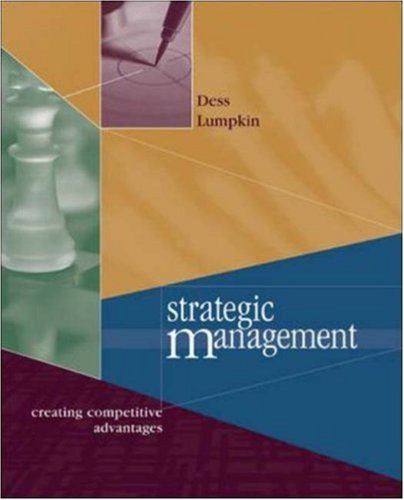 9780072509175: Strategic Management: Creating Competitive Advantage