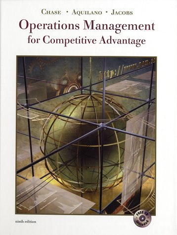 9780072509618: Operations Management for Competitive Advantage