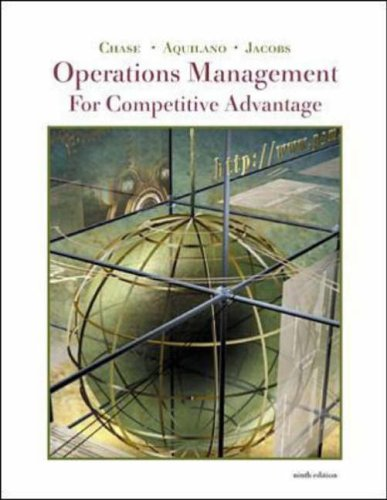 9780072509618: Operations Management for Competitive Advanage with CD-ROM and PowerWeb