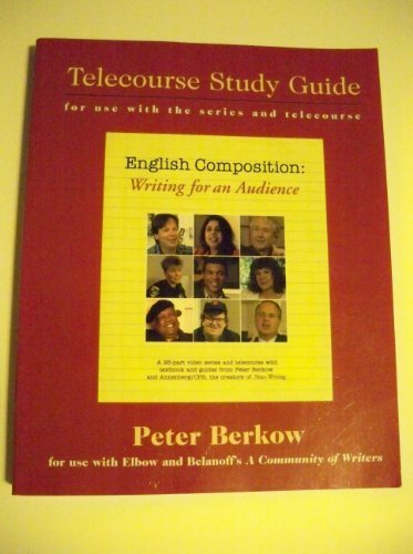 9780072510171: English Composition: Writing For An Audience, telecourse Study Guide