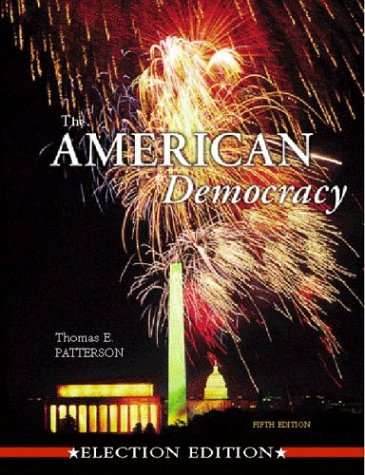 9780072510300: The American Democracy Election Ed. w/ Interactive CD Rom & PowerWeb AG; MP