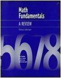 9780072510362: Math Fundamentals: A Review