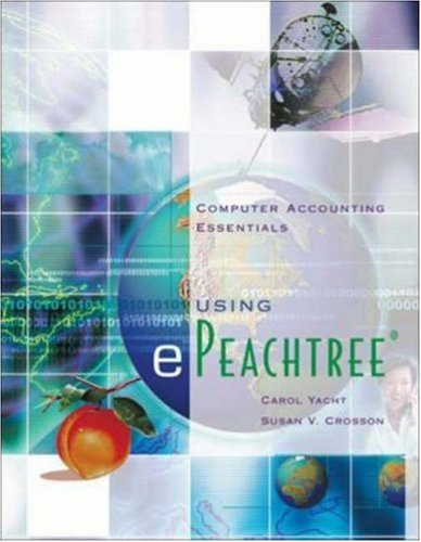 9780072510713: Computer Accounting Essentials using ePeachtree