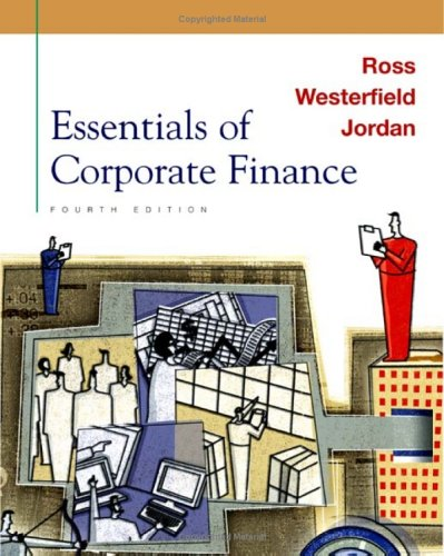 9780072510768: Essentials of Corporate Finance (The Mcgraw-Hill/Irwin Series in Finance, Insurance, and Real Estate)
