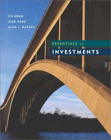 9780072510775: Essentials of Investments (Mcgraw-Hill/Irwin Series in Finance, Insurance, and Real Estate)