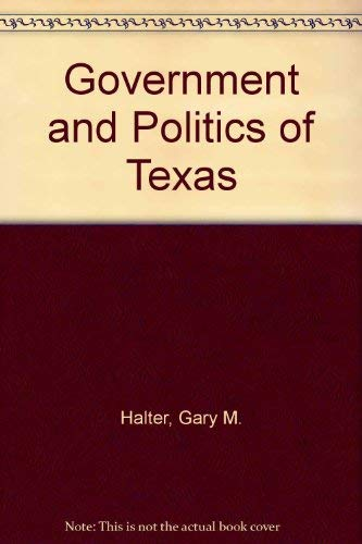 9780072511932: Government and Politics of Texas