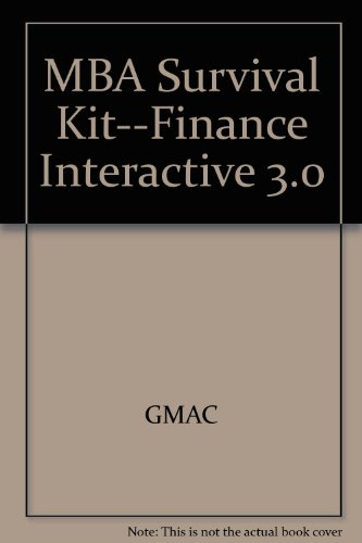 9780072512007: MBA Survival Kit--Finance Interactive 3.0