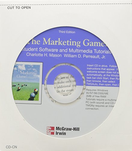 9780072512328: The Marketing Game Student Software CD