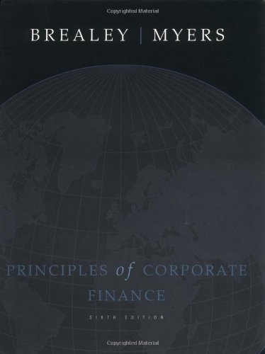 9780072512601: Principles of Corporate Finance