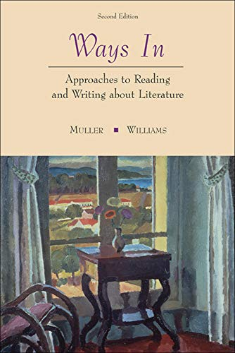 9780072512908: Ways In: Approaches To Reading and Writing about Literature and Film