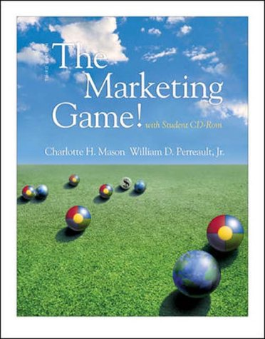 9780072514575: The Marketing Game - Professor's Complimentary Package