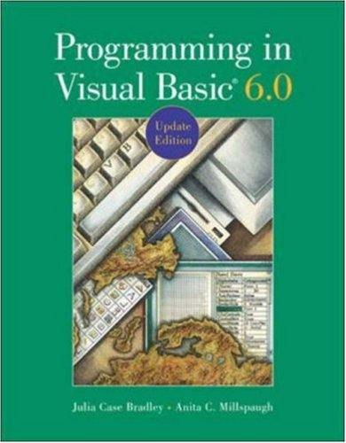 9780072518740: Programming in Visual Basic 6.0 Update Edition with CD: Updated Edition (With CD-ROM)