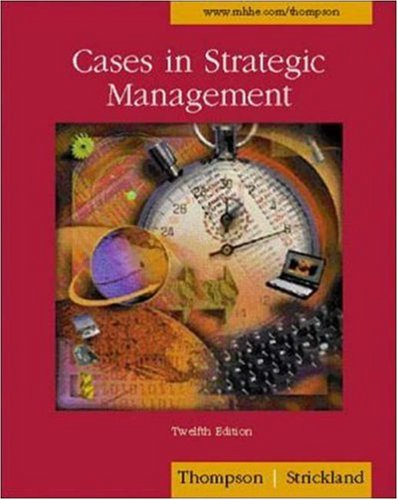 9780072518771: Cases in Strategic Management with PowerWeb and Concept/Case TUTOR Cards