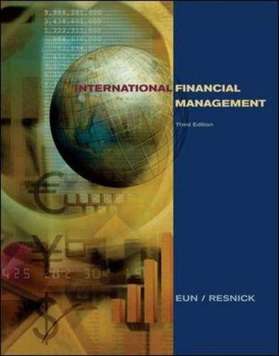 9780072521276: International Financial Management (McGraw-Hill/Irwin Series in Finance, Insurance, and Real Est)