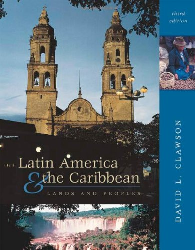 9780072521443: Latin America and The Caribbean: Lands and Peoples