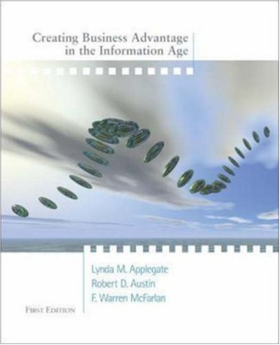 9780072523676: Creating Business Advantage in the Information Age