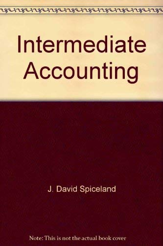 Intermediate Accounting-Updated 2nd Edition: Spiceland, Sepe, Tomassini