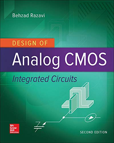 9780072524932: Design of Analog CMOS Integrated Circuits